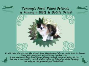 Tommy's Oct 5 Fundraiser